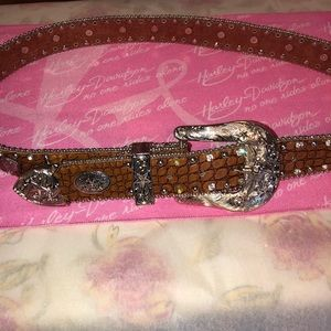 🎀 Harley Davidson Rider Women's leather belt